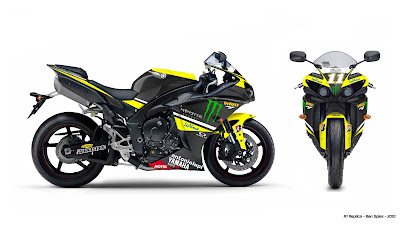 2010 Yamaha YZF-R1 Ben Spies Race Replica Picture