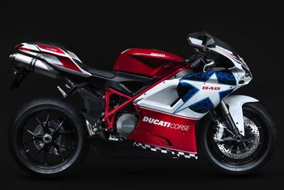 2010 Ducati 848 Nicky Hayden Edition Side View