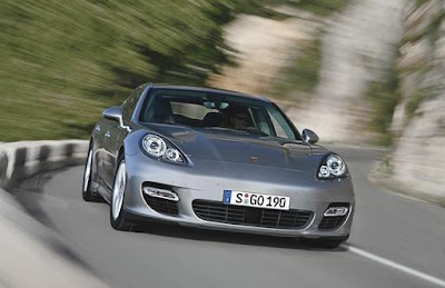 2010 Porsche Panamera Front View