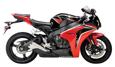 2010 Honda CBR1000RR ABS Black Red Color