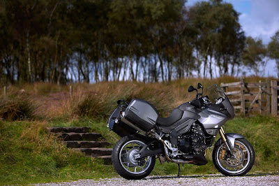 2010 Triumph Tiger Special Edition Motorcycle