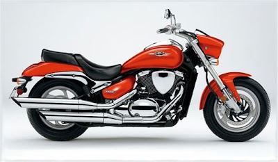 2010 Suzuki Boulevard M50 Red Color