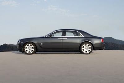 2011 Rolls-Royce Ghost Side View