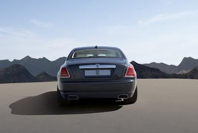 2011 Rolls-Royce Ghost Rear View