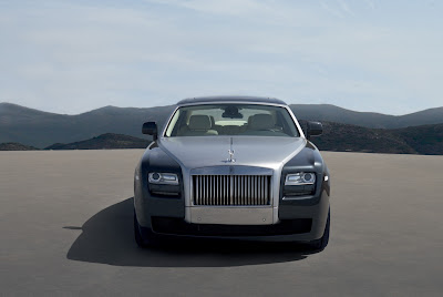 2011 Rolls-Royce Ghost Front View