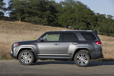 2010 Toyota 4Runner Side View