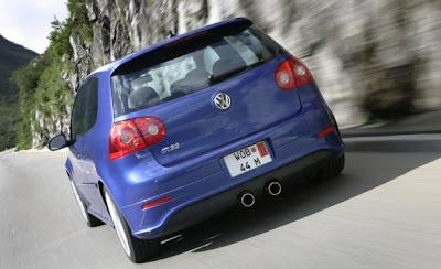 2010 Volkswagen Golf R Rear View