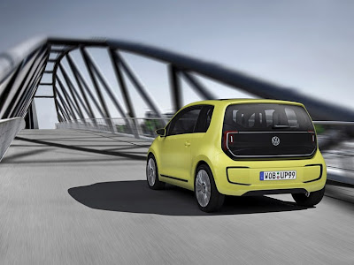 2009 Volkswagen E-Up Concept Rear View
