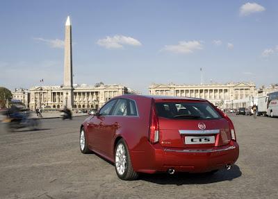 2010 Cadillac CTS Sport Wagon Rear View
