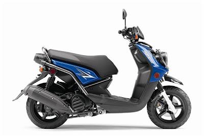 2010 Yamaha Zuma 125 Blue Color