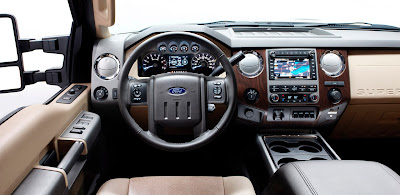2011 Ford Super Duty Interior