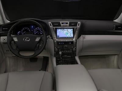 2009 Lexus LS 600h L Interior