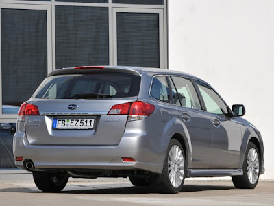 2010 Subaru Legacy Tourer Rear View