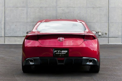 2009 Toyota FT-86 Concept Rear View