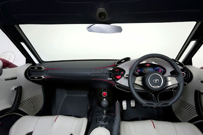 2009 Toyota FT-86 Concept Interior