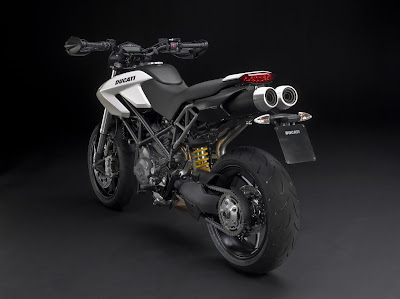 2010 Ducati Hypermotard 796 Rear View