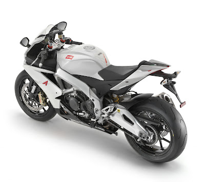 2010 Aprilia RSV4 R Top Side View