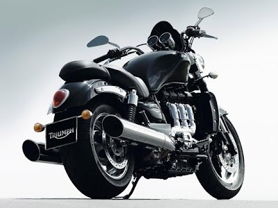 2010 Triumph Rocket III Roadster Rear View