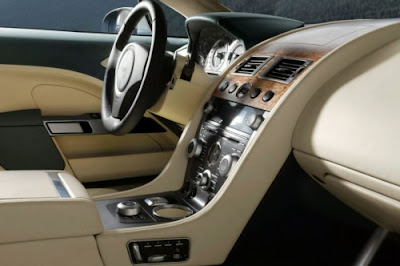 2011 Aston Martin Rapide Interior