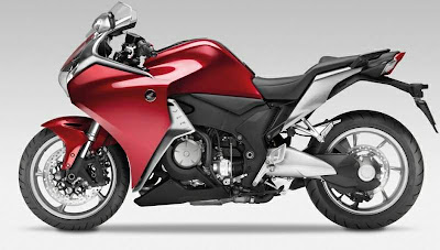 2011 Honda VFR1200F Sport Bike
