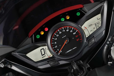 2010 Honda VFR1200F Dash