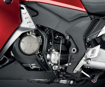 2010 Honda VFR1200F Engine View