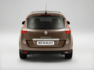 2010 Renault Scenic Rear View