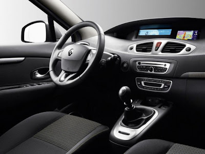 Car Interior Renault Scenic 2010