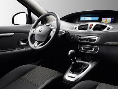 2010 Renault Scenic Interior