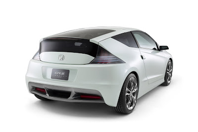 2009 Honda CRZ Concept Rear View