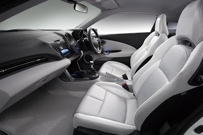 2009 Honda CRZ Concept Seats