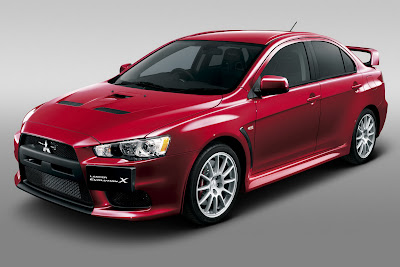 2010 Mitsubishi Lancer Evo X Sport Car Wallpaper