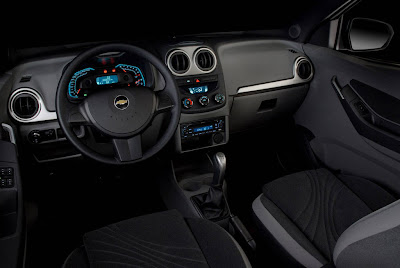 2010 Chevrolet Agile Interior View