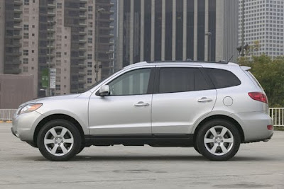 2010 Hyundai Santa Fe Side View