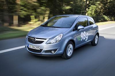 2010 Opel Corsa ecoFLEX Test Road