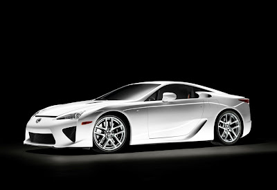 2011 Lexus LFA Side View