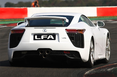 2011 Lexus LFA Rear View