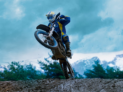2010 Husaberg FX 450 in Action