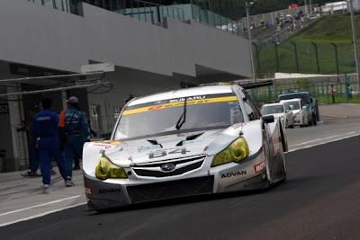 2009 Subaru Legacy B4 GT300 Front View