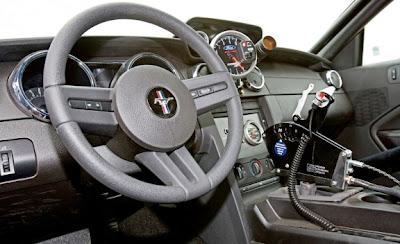 2010 Ford Mustang Cobra Jet Interior