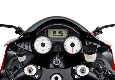 2010 Kawasaki Ninja ZX-14 Dashboard