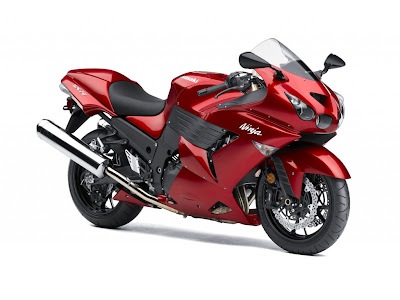 2010 Kawasaki Ninja ZX-14 Red Color