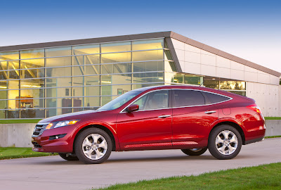 2010 Honda Accord Crosstour Side View