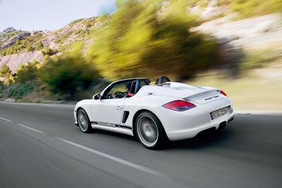 2010 Porsche Boxster Spyder Sport Car