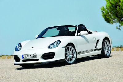 2010 Porsche Boxster Spyder Front Angle View