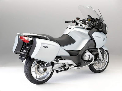 2010 BMW R 1200 RT Rear Side View