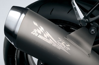 2010 Suzuki GSX-R1000Z 25th Anniversary Racing Exhaust