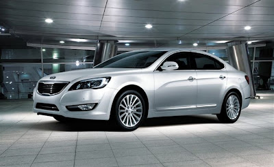 2010 Kia Cadenza Side Angle View