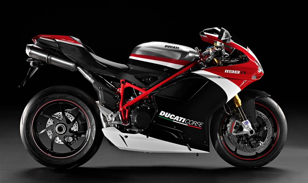 2010 Ducati 1198R Corse Special Edition Side View