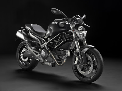 2010 Ducati Monster 696 Black Color